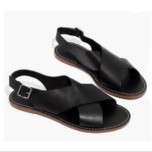 Madewell The Boardwalk Crossover Sandal